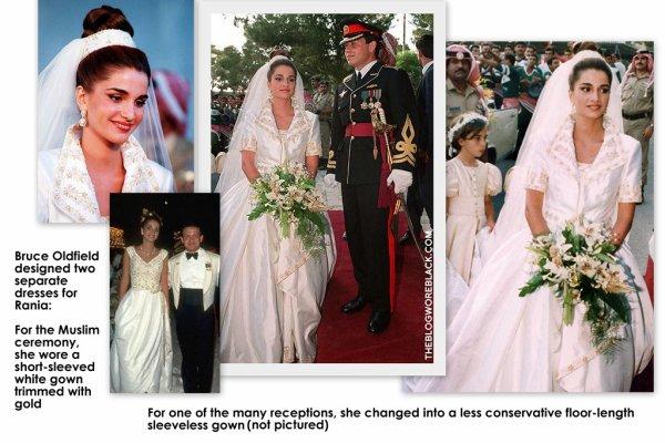 Queen Rania Of Jordan Wedding Tbrb Info