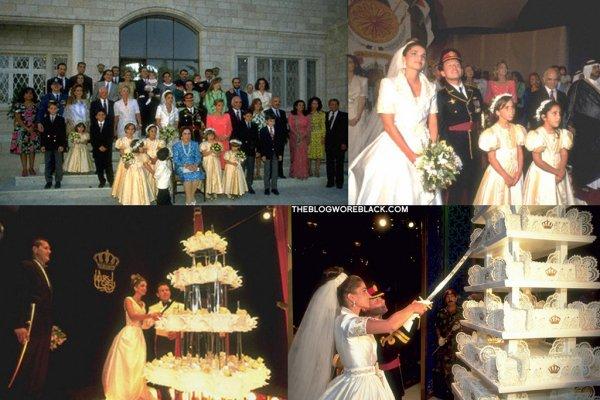 The Wedding dress - Queen Rania of Jordan _
