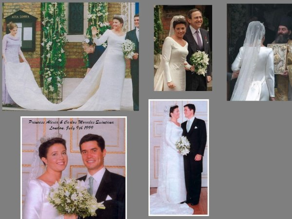 Princess Alexia Of Grece - The Wedding Dress