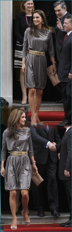 The Style Dress - Queen Rania of Jordan _ Suite