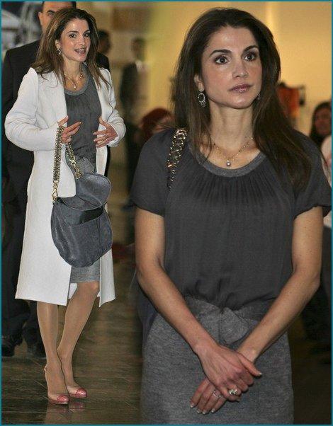 The Style Dress - Queen Rania of Jordan _ Suite