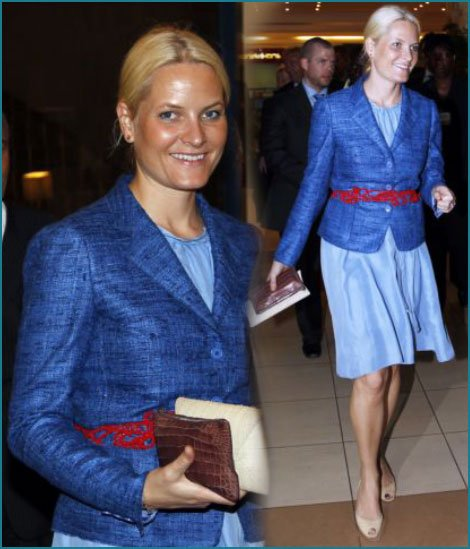 The Style Dress - Princess Mette-Marit, Crown Princess of Norway _