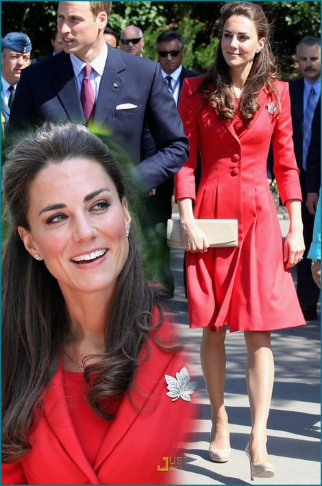 Catherine Duchess of Cambridge - Style * In Canada *  _  Suite
