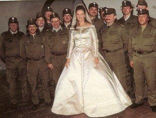Wedding Dress Baroness Francesca Thyssen-Bornemisza