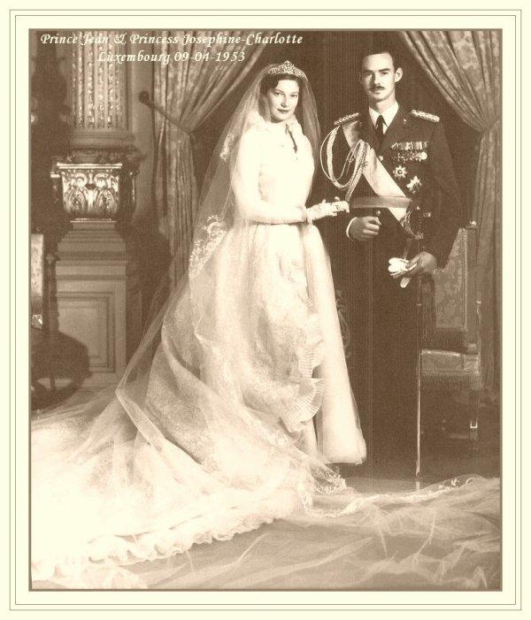 The Wedding Dress -  Princess Joséphine-Charlotte of Belgium