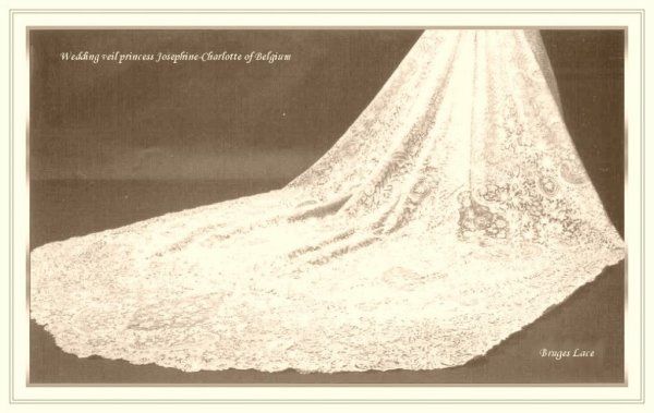 The Wedding Dress -  Princess Joséphine-Charlotte of Belgium