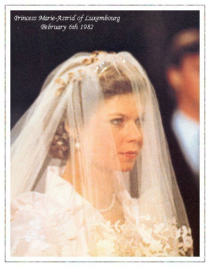 The Wedding Dress - Princess Marie-Astrid of Luxembourg