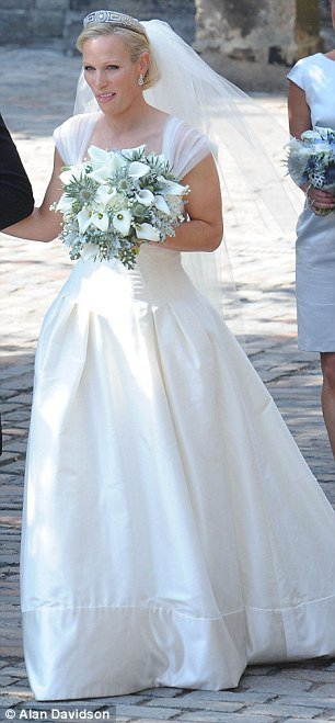 The Wedding Dress - Zara Phillips _ Suite