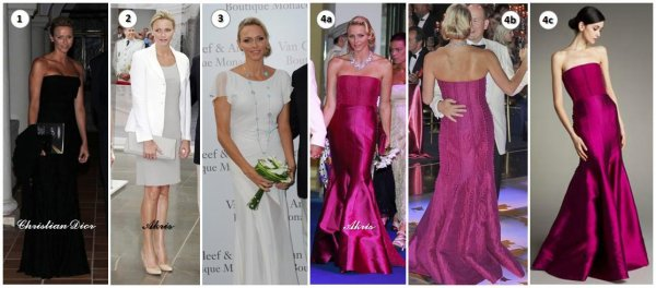 Princess Charlene of Monaco Dress _