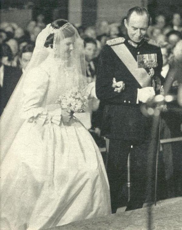 The Wedding Dress -  Princess Margaretha of  Luxembourg