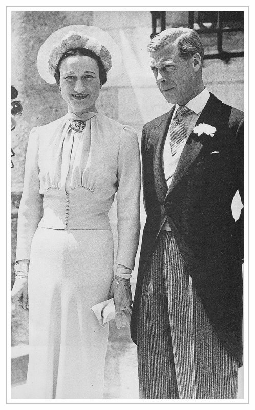 The Wedding Dress -  Wallis Warfield, Mrs Simpson  _  Duchess Of Windsor