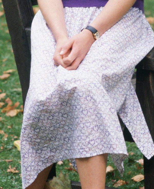 Détails  / matériaux de ses vêtements de Diana _