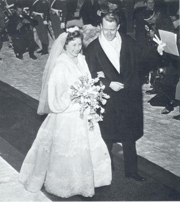 The Wedding Dress of Princess Astrid Princess of Norway