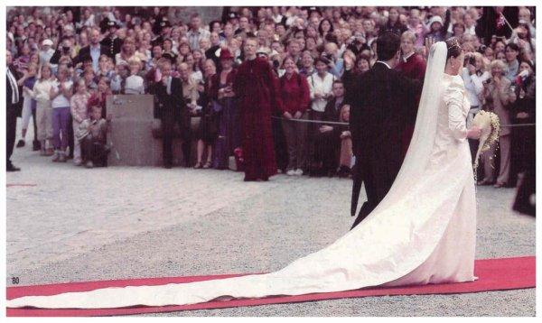 Wedding dress - Princess Märtha Louise of Norway