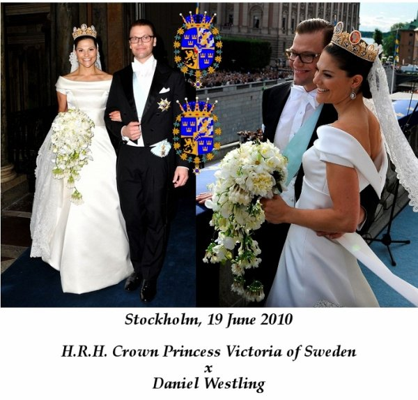 the Wedding Dress - Crown Princess Victoria of Sweden