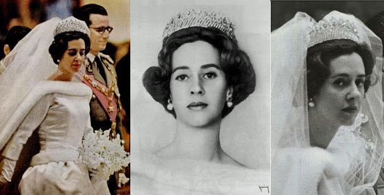The Wedding Dress - Fabiola de Mora y Aragón _ Queen of Belgium             * Suite *