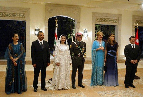 The wedding Dress - Princess Noor Bint Assem of  Jordan