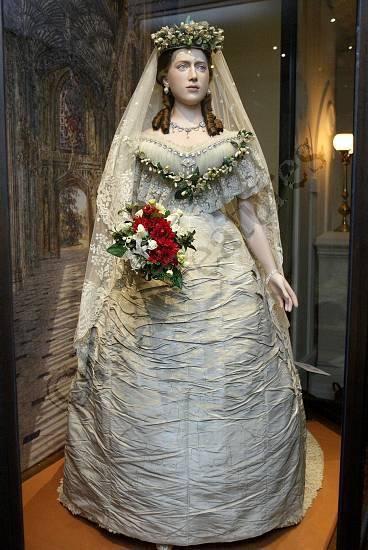 Historic Wedding Dress -Princess  Alexandra of Denmark _ Queen of England