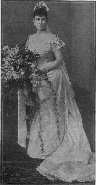 History  Wedding Dress - Princess Victoria Mary (May) of Teck