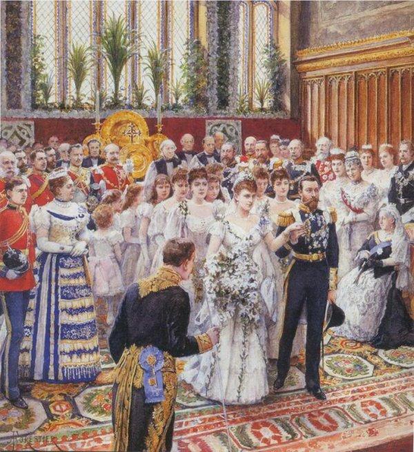History  Wedding Dress - Princess Victoria Mary (May) of Teck
