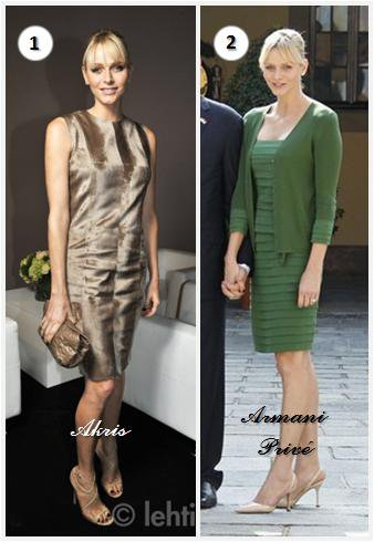 Princess Charlene of Monaco Dress _ Suite