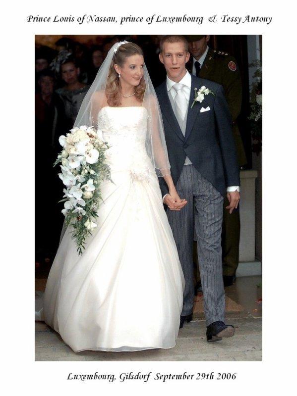 Wedding Dress - Tessy Antony _ Princess of Luxembourg