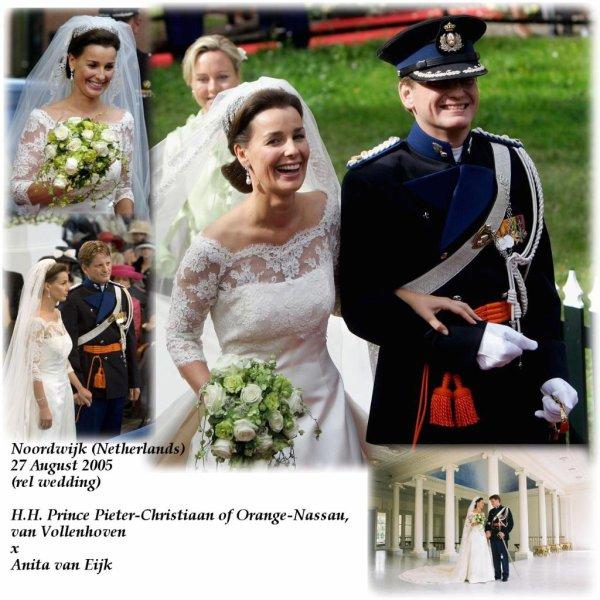 Wedding Dress - Anita van Eijk  _ Princess of Orange-Nassau,Van Vollenhoven