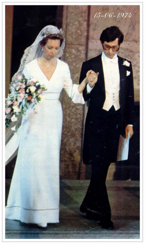 The Wedding Dress - Princess Christina of  Sweden _