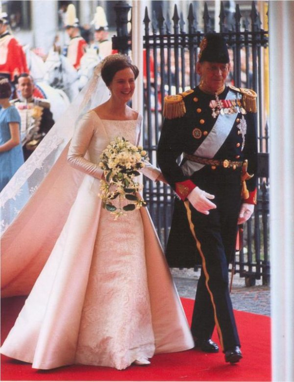 The Wedding Dress - Princess Margretha _ Queen of Denmark