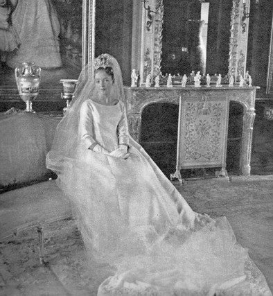 The Wedding Dress - Princess of France , Diane of Orléans _ Duchess of Wuttemberg