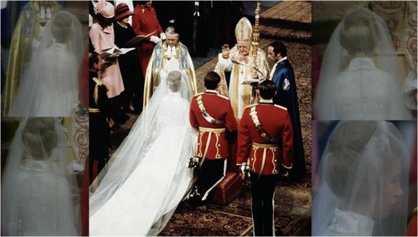 The Wedding Dress - Princess Anne of  England  _
