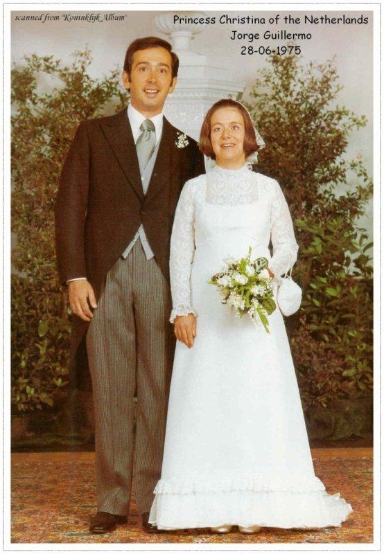The Wedding Dress - Princess Christina of  the Netherlands