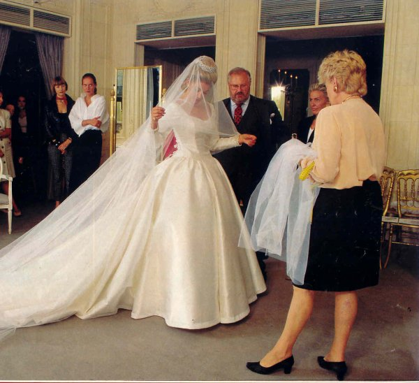 The Wedding Dress - Princess Clotilde d'Orléans _