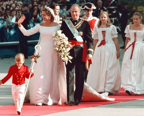 The Wedding Dress - Infanta Cristina of Spain _