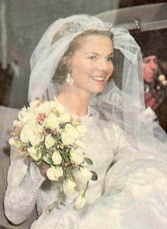 The Wedding Dress - Katharine Worsley _ Duchess of  Kent