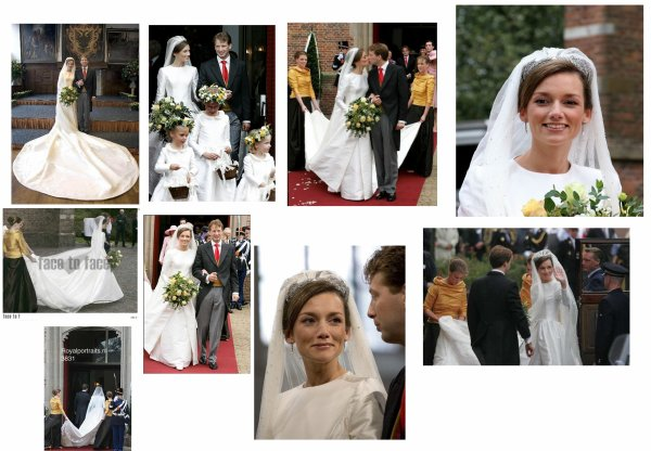 The Wedding Dress -  Aimée Sohngen _ Princess of  Oranje- Nassau