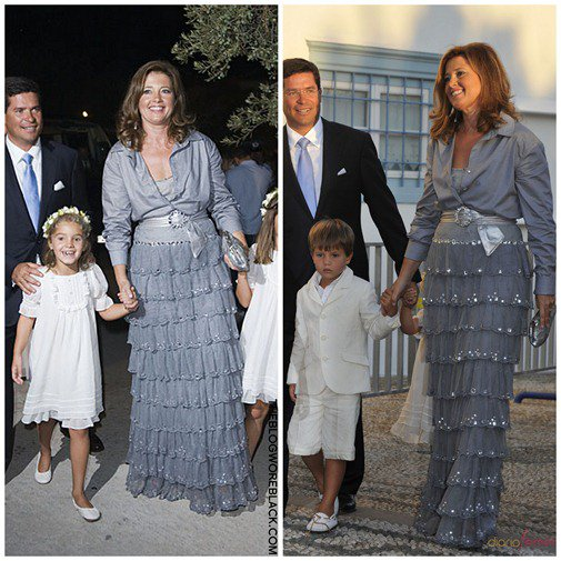 The Style Dress  - Princess Alexia of Greece