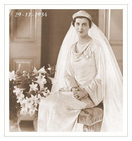 The Wedding Dress - Marina ,Princess Of Greece _ Duchess of Kent