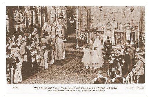The Wedding Dress - Marina ,Princess Of Greece _ Duchess of Kent