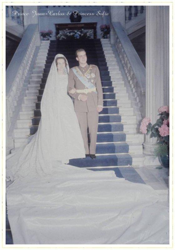 "The Wedding Dress - Princess Sophia of Greece _ Queen of Spain ""  SUITE """