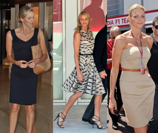 The Style Dress - Princess Charlene of Monaco _ Suite