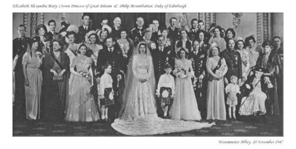 The Wedding Dress - Princess Elizabeth , Queen of England _ Suite