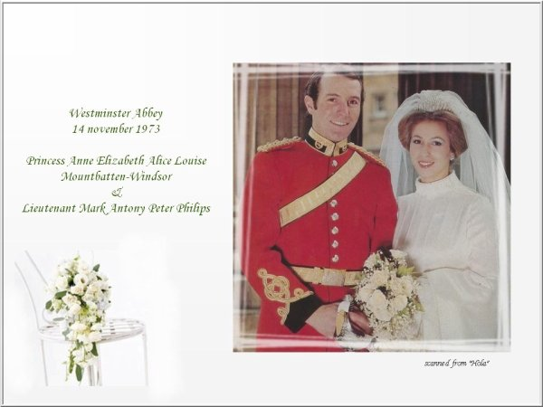 The Wedding Dress - Princess Anne of England _ Suite
