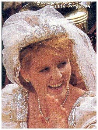 Wedding Dress - Sarah Ferguson _ Duchess  of  York