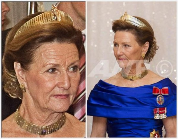 the Modern Gold Tiara