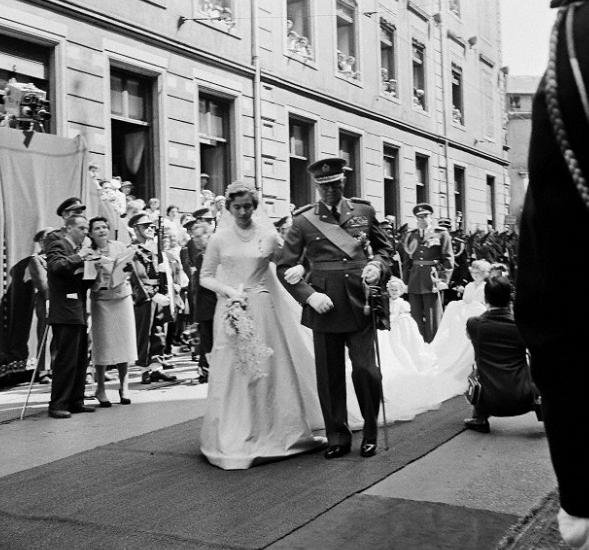 The Wedding Dress - Elisabeth  Princess of Luxembourg _ Duchess of Hohenberg