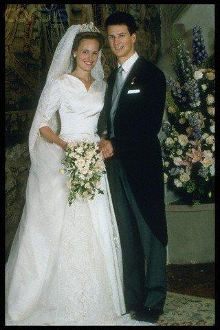 The Wedding Dress - Princess Sophie Von Bayern _ Princess of liechtenstein
