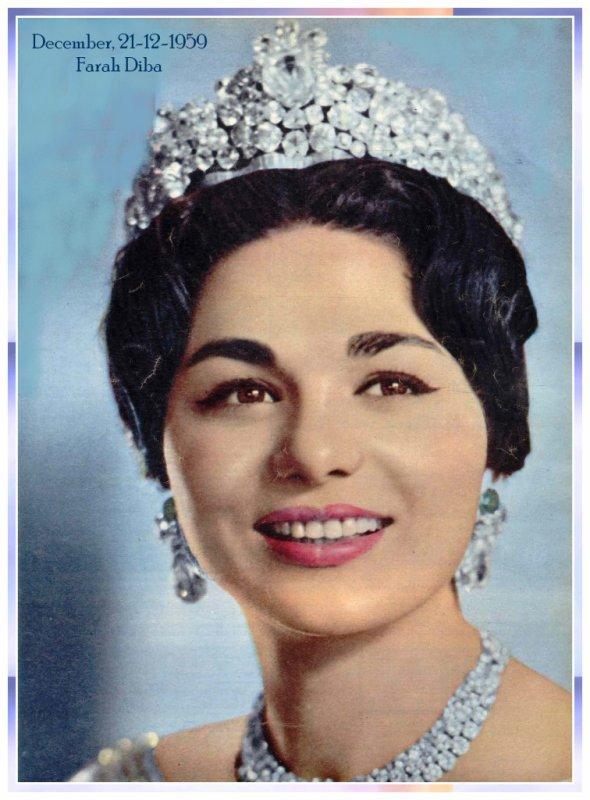 The Wedding Dress - Farah Diba _ Queen of Iran