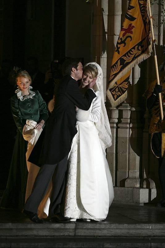 The Wedding Dress - Marie Christine Archduchess of Austria _ Comtess of Limburg-Stirum