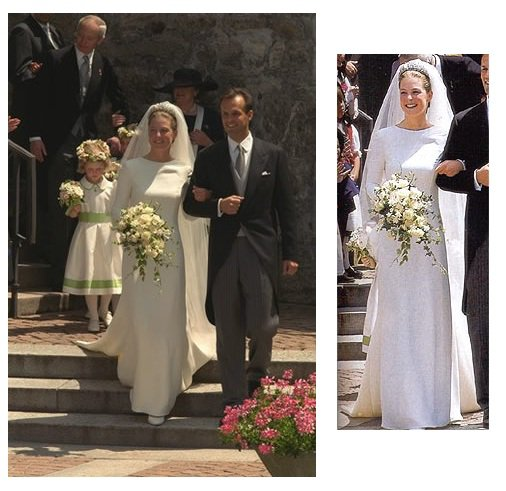 The Wedding Dress - Princess Tatjana of Liechtenstein